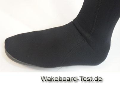 Wakeboard-Neoprensocken test