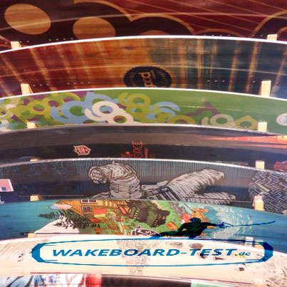 Wakeboard-Test