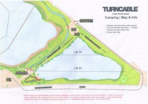 CampingPlatz Liste TurnCable