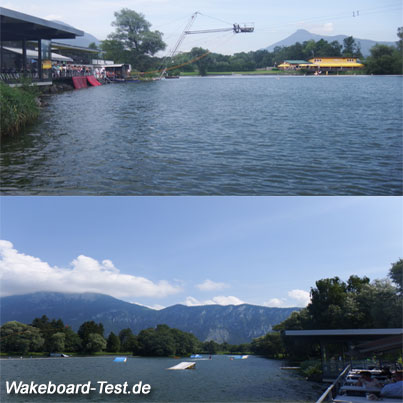 Wakeboard-Kiefersfelden-Test