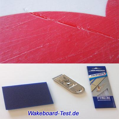 wakeboard reparieren test